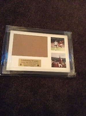 Framed picture  celebrating 50 years england 1966 world cup winners