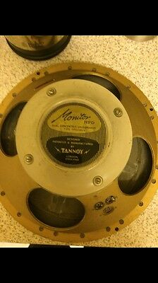 "One vintage TANNOY 15"" Gold speaker, lovely condition,"
