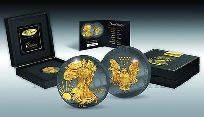 Golden Enigma American Eagle 30th Anniversary Liberty Prestige Edition 2016 $1