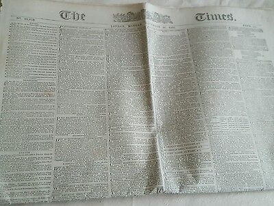 Original Victorian Antique Edition of The Wigan Times Friday April 13th 1900