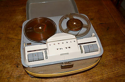 Grundig TK14 Reel to Reel Tape Recorder. Retro, Vintage