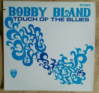 """Bobby """"Blue"""" Bland """"Touch Of The Blues"""" Vinyl LP DXLP 88 1974 US Reissue"""