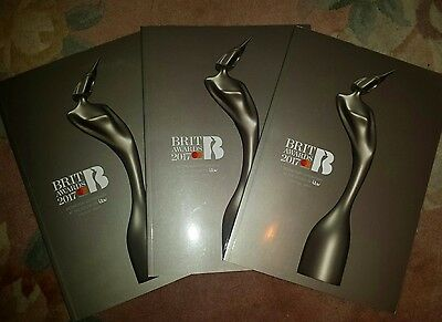 Brit Awards 2017 Officialprogramme