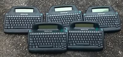 (5) Alphasmart 3000 Keyboards Free Shipping