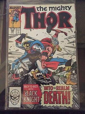 Mighty Thor #396 Black Knight Copper Age 1st Series. Marvel Comics.
