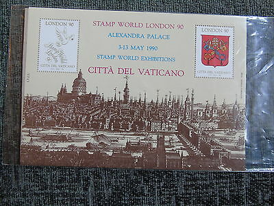 Qc Collection Gb Album 1990 World Stamps Vatican City Stamp World Exhibitions
