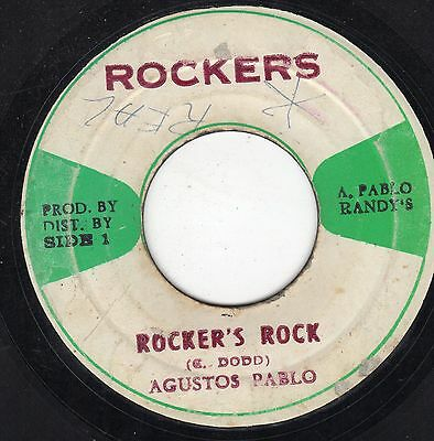 """ ROCKER'S ROCK. "" augustus pablo. ROCKERS 7in 1974."