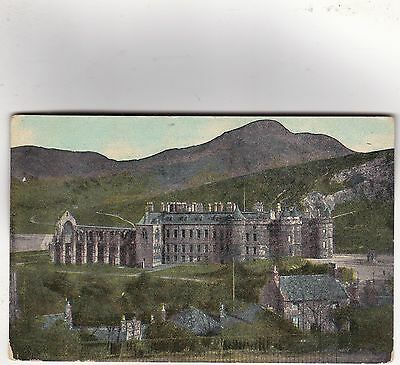 Edinburgh, Scotland - Holyrood Palace, posted 1912