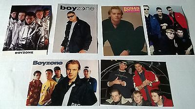 Six Boyzone Postcards