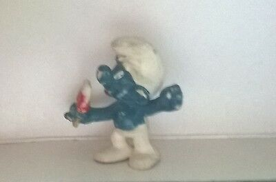 Smurf  With Ice  Lolly