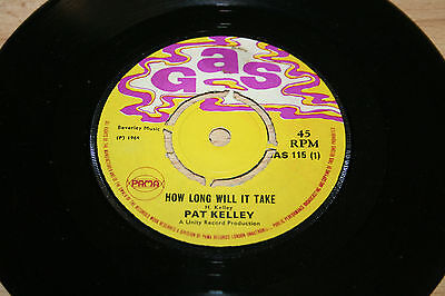 "Pat Kelley How Long Will It Take Try To Remember 1969 Uk 7"" Vinyl Single"
