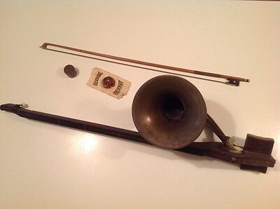 """### Fantastic Rare """"phono-Fiddle"""" By A T Howson London"""