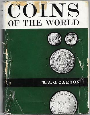Coins of the World by R.A.G. Carson