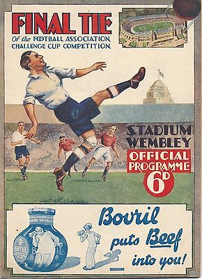 FA CUP FINAL PROGRAMME 1932 Arsenal v Newcastle United