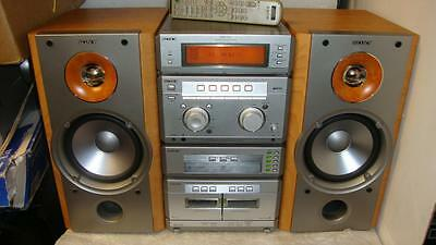 SONY NX-1 GREAT STEREO SYSTEM With Remote-SOUNDS SUPERB