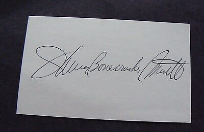 James Bonecrusher Smith Boxing Champ Signed Autograph 3 X 5 INDEX CARD