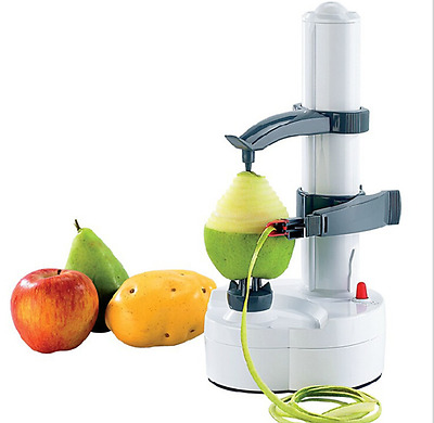 Kitchen Utensil Electric Potato Peeler Automatic Pear Apple Fruit Cutter Slicer