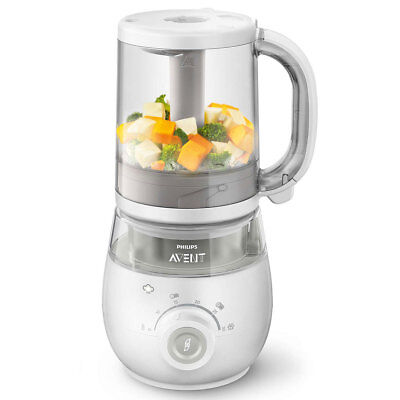 Philips Avent 4-In-1 Combined Steamer And Blender Healthy Baby Food Maker Scf875