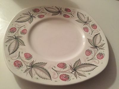 Susie Cooper Strawberry Shaped Cake Plate C486