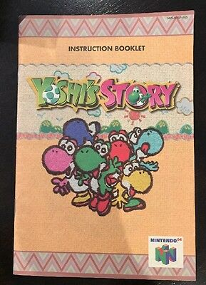 Yoshi's Story Instruction Booklet Only