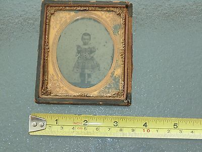 Antique Child Portrait Ambrotype of a Young Girl Photograph by Dean & Emersons