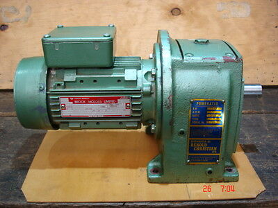 Reduction gearbox 1/2HP 16:1 ,3 phase
