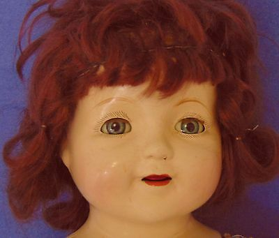 Early Sweet Sue 1917 Doll Composition American Character Girl Dollmaker Restore