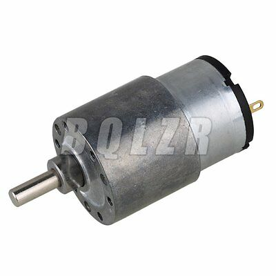 90 Reduction Ratio 50RPM Direct-current Geared motors for Automatic Actuator