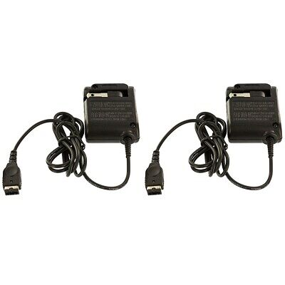 2-Pack Wall Travel Charger AC Adapter for Nintendo DS NDS GBA Gameboy Advance SP