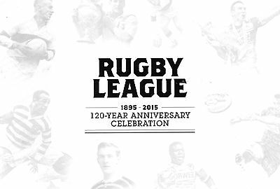 1895-2015 Rugby League 120 Year Anniversary Celebration Brochure-Programme