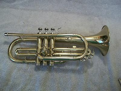 Conn Director Cornet  ~Serial Number Number L33423  with case and #3 mouth piece