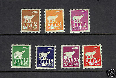NORWAY 104-110 Polar Bear Airplane Admunsen Flight North Pole VFlh exploration