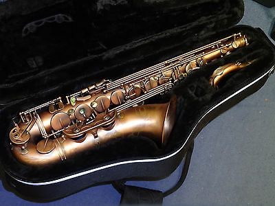 Chiltern tenor saxophone T900B/DC vintage finish with Selmer Soloist mouthpiece