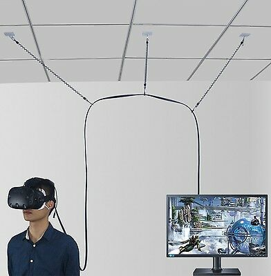 MDW VR Cable Management System for HTC VIVE Virtual Reality Headset- No More ...