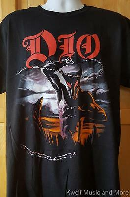 """DIO T-Shirt """"Holy Diver"""" Front and Back  Official/Licensed  M, L, XL, 2XL  NEW"""