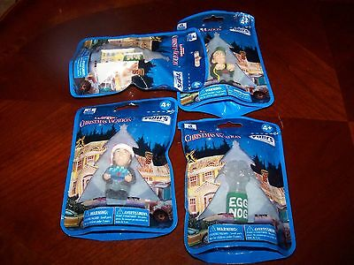 Set of 4 National Lampoon's Christmas Vacation YUBI's Fingerines Figures