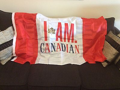 New Coors Molson's Beer Large Flag, I Am Canadian