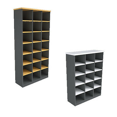 Ready 2 Go Pigeon Hole Bookcase - Assorted Colours and Dimensions