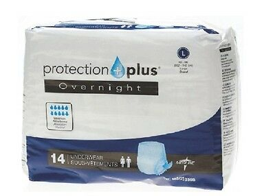 Incontinence Disposable pull up pants LARGE *Super Absorbent* - 4 bags of 14