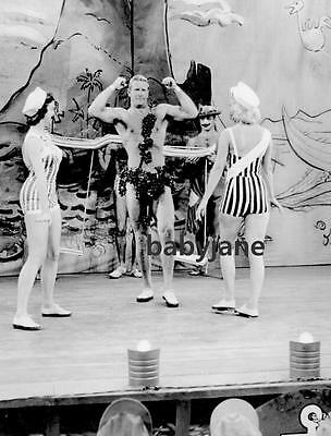 002 Ken Clark Semi Nude On Stage South Pacific Photo