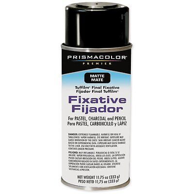 Prismacolor Premier Tuffilm 11-3/4-Ounce Final Fixative Aerosol Spray, Matte