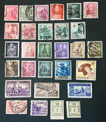 Selected Stamps from Spain Lot 31