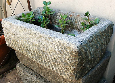 Rustic Old Stone Trough / Planter