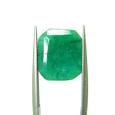 5.35 Ct Certified Natural Green Emerald / Panna Oval Loose Gemstone - 111631