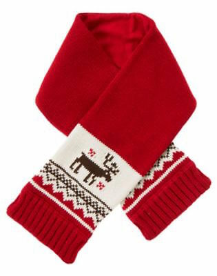 Janie and Jack Scarf 2011 Cherish the Season (red / size 10)