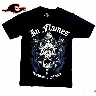 Inflames - Demonic Force - Band T-Shirt