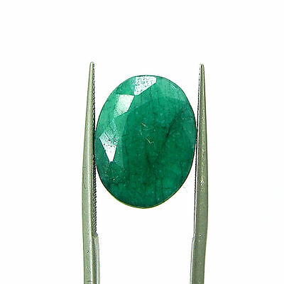 6.73 Ct Certified Natural Green Emerald / Panna Oval Loose Gemstone - 111566