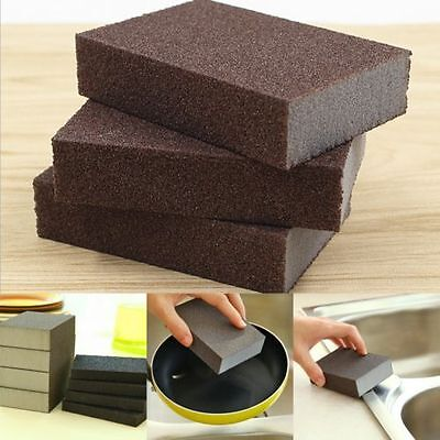 Kitchen Nano Emery Magic Clean Rub Rust Stains Removing Sponge Cleaning Tools PD