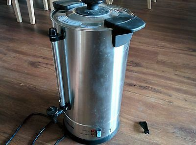 Heller Professional 8L Stainless Steel Urn (Needs small repair)