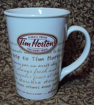 Tim Hortons Limited Edition Coffee Mug Cup Road Trip  #009 2009